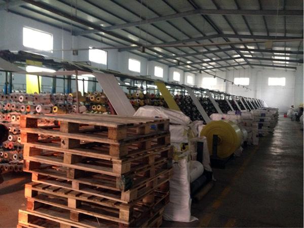 復合編織袋生產車間